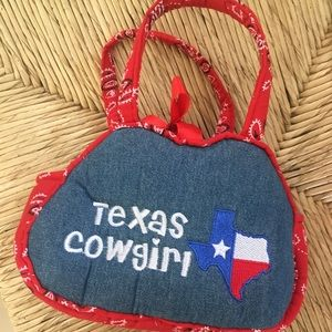 Other - Texas cowgirl cute little girls purse
